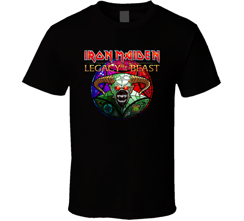 New Iron Maiden Legacy Of The Beast T Shirt