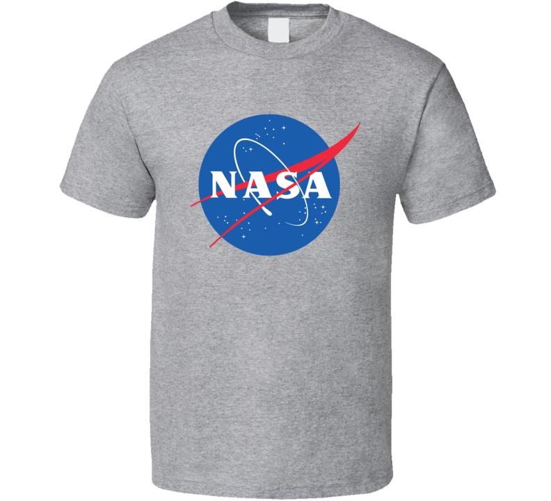 Nasa Space Astronaut Classic Logo  T Shirt