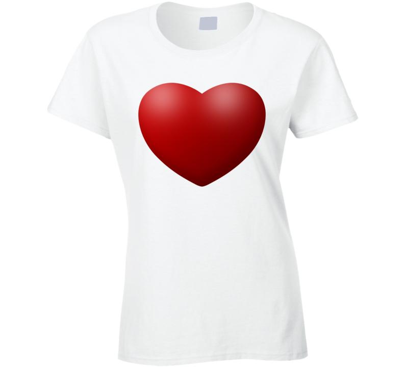 Love Heart Logo Forever Like Lovers Ladies T Shirt