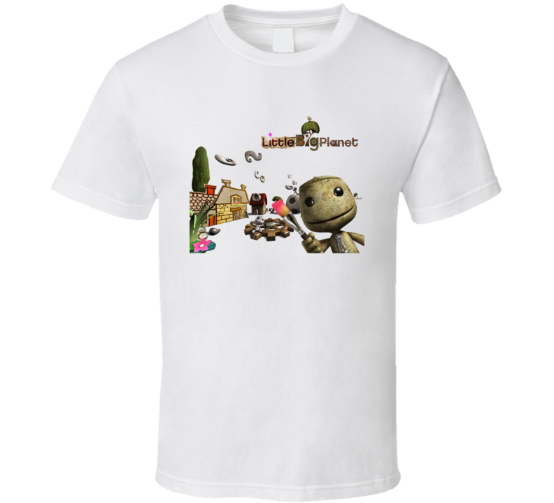 Little Big Planet Sackboy Playground Doll T Shirt