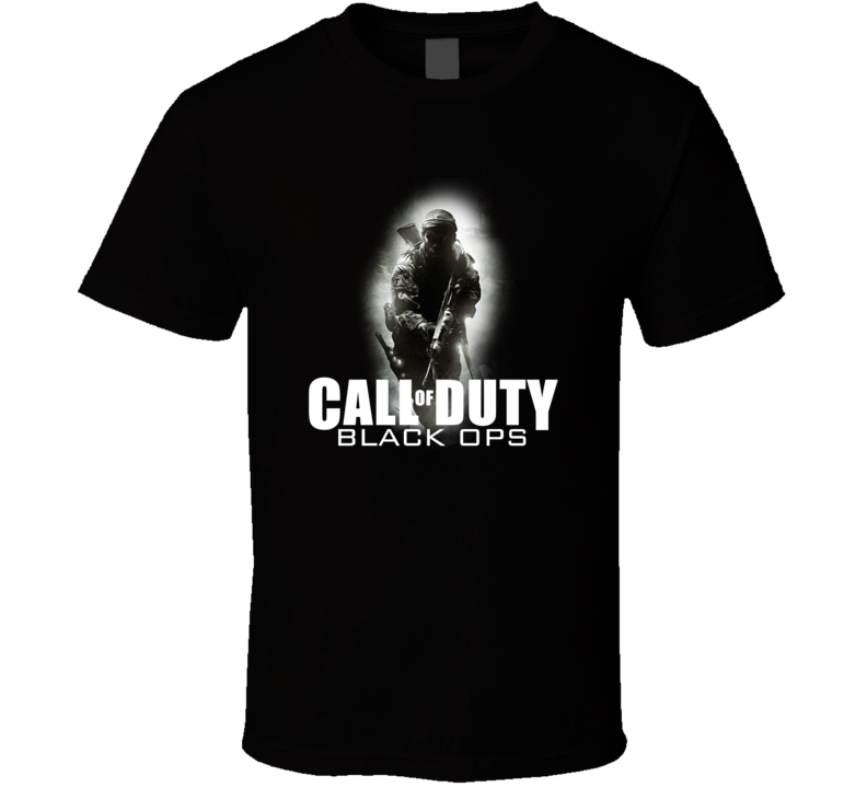 Inspired Call Of Duty Black Ops Standard Operation  T Shirt