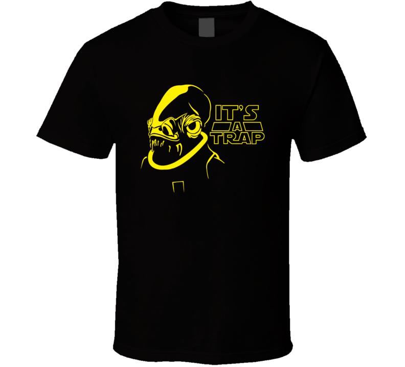 Star Wars It's A Trap Ackbar Cast T Shirt