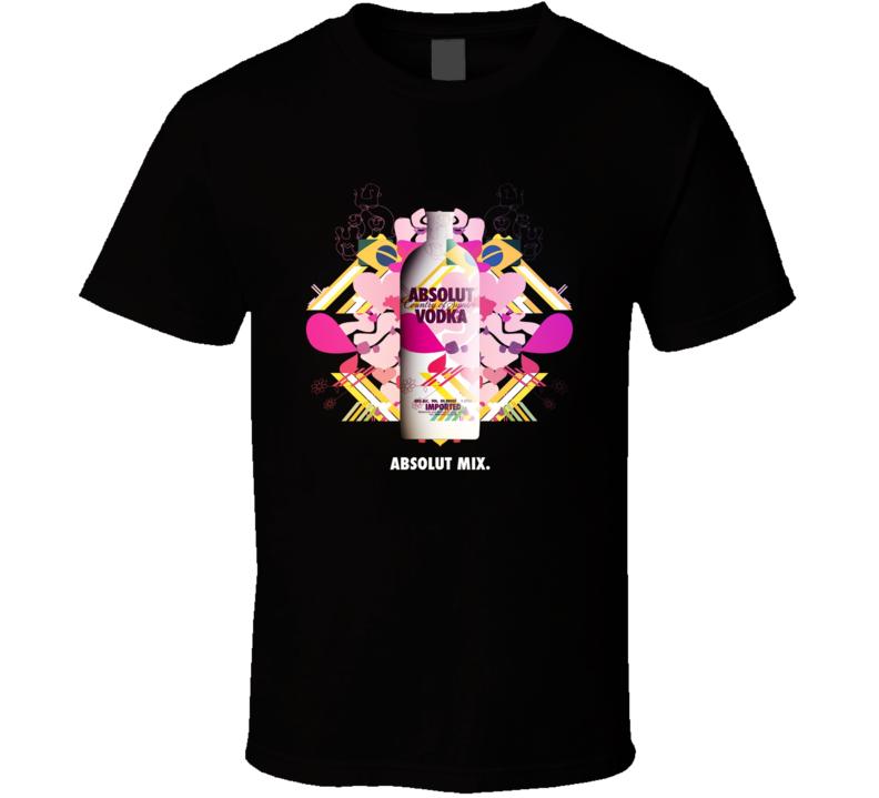 Absolut Vodka  Mix T Shirt