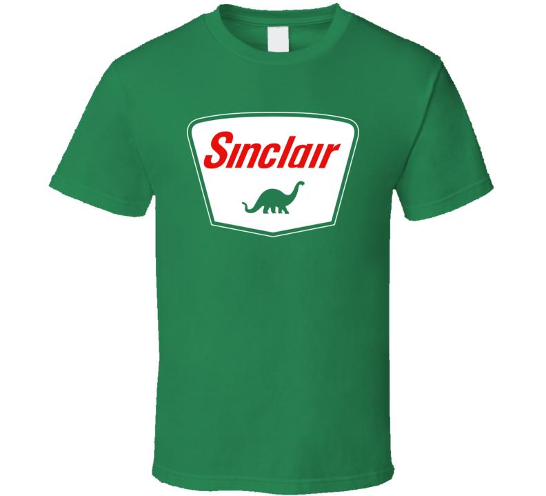 New  Sinclair Dinosaur Dino Oil Gasoline Motor Retro T Shirt