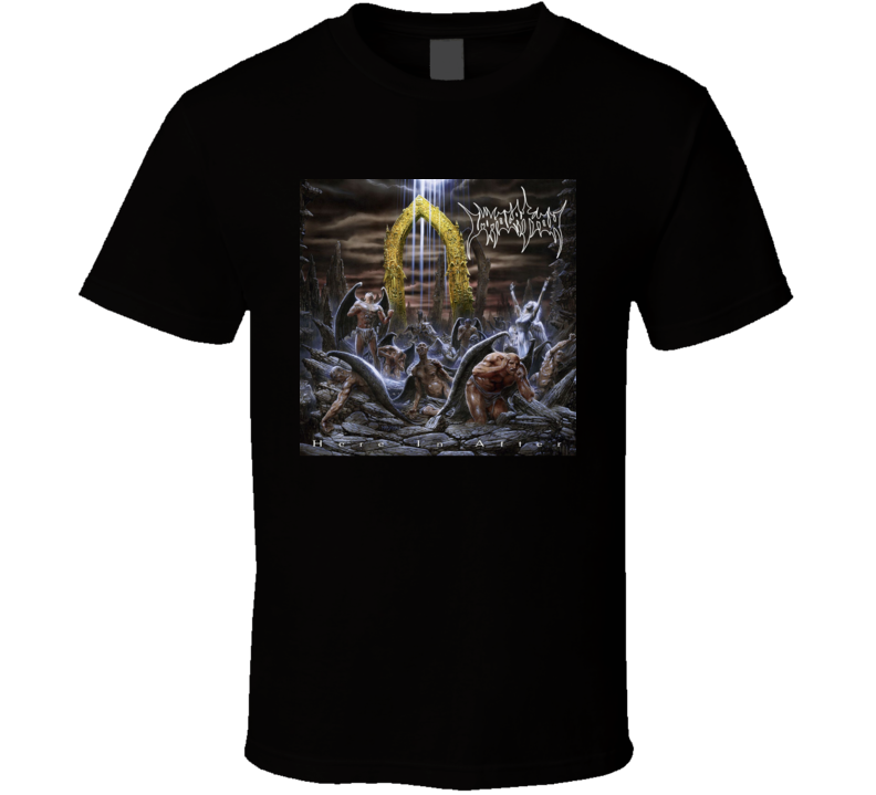 Death Metal Apparel Immolation Here In After Album T Shirt