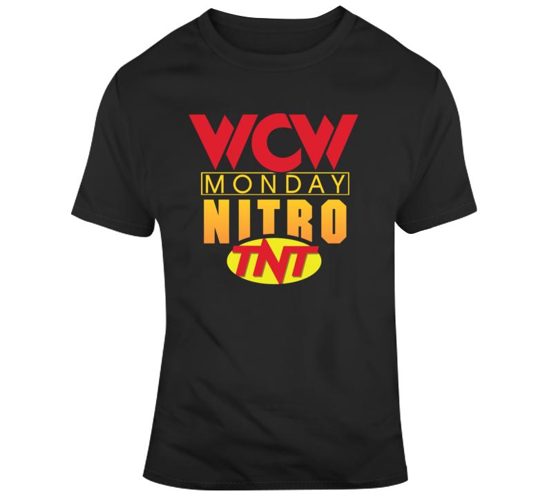 Wcw Mondaonday Nitro Tnt T Shirt