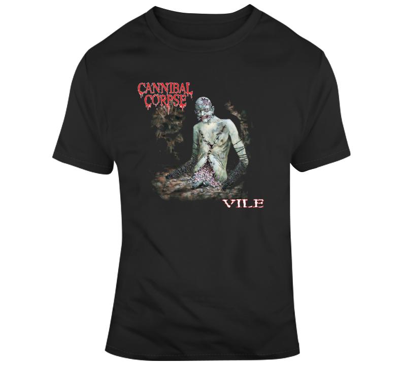 Cannibal Corpse Metal Vile T Shirt