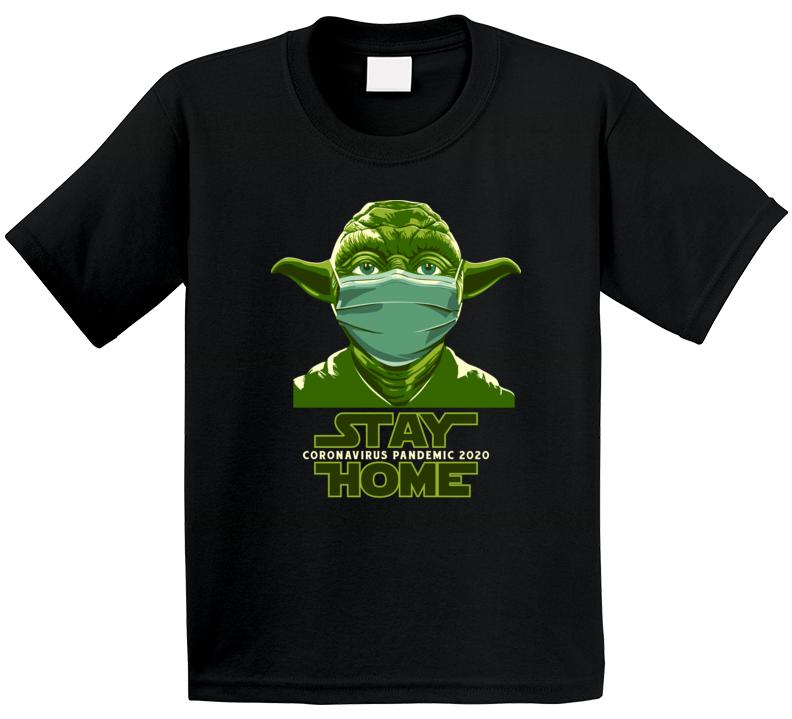 Star Wars Stay Home Yoda 2020 T Shirt