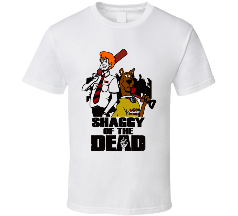 Shaggy Of The Dead Funny T Shirt