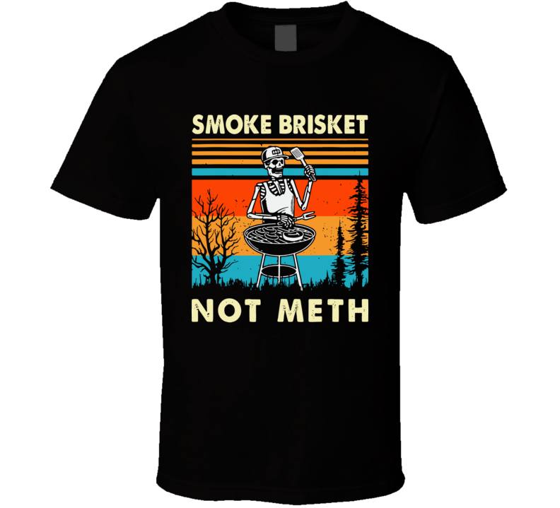 Funny Vintage Smoke Brisket T Shirt