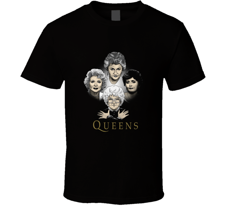 Golden Queens Classic Retro Quality Image T Shirt