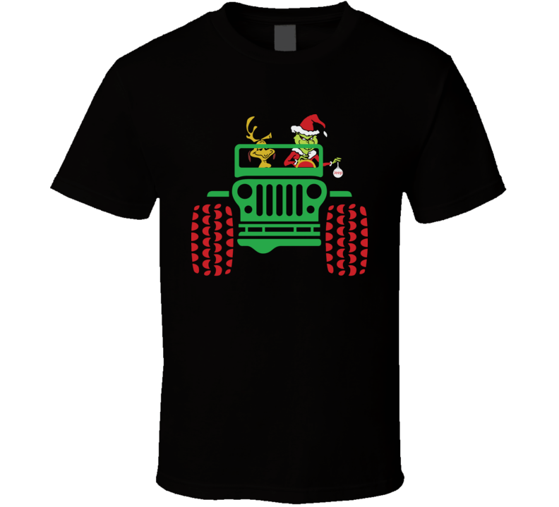 Jeep Grinch Life Is Better With A Dog T Shirt