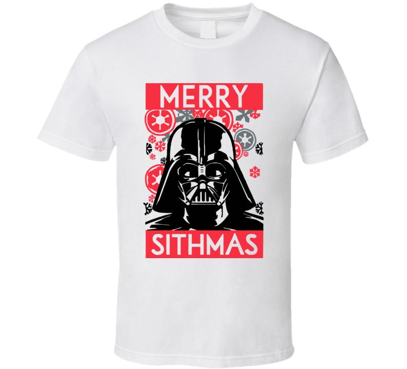 Star Wars Merry Sithmas Vader T Shirt