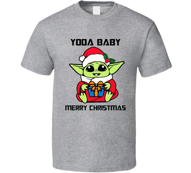 Christmas Baby Yoda Star Wars T Shirt