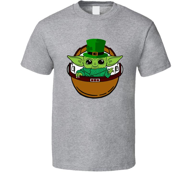 Kiss Me Im Irish Baby Yoda St Patrick's Day T Shirt