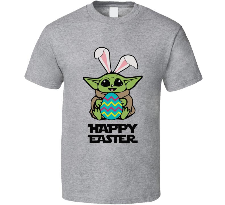 Baby Yoda Easter  T Shirt