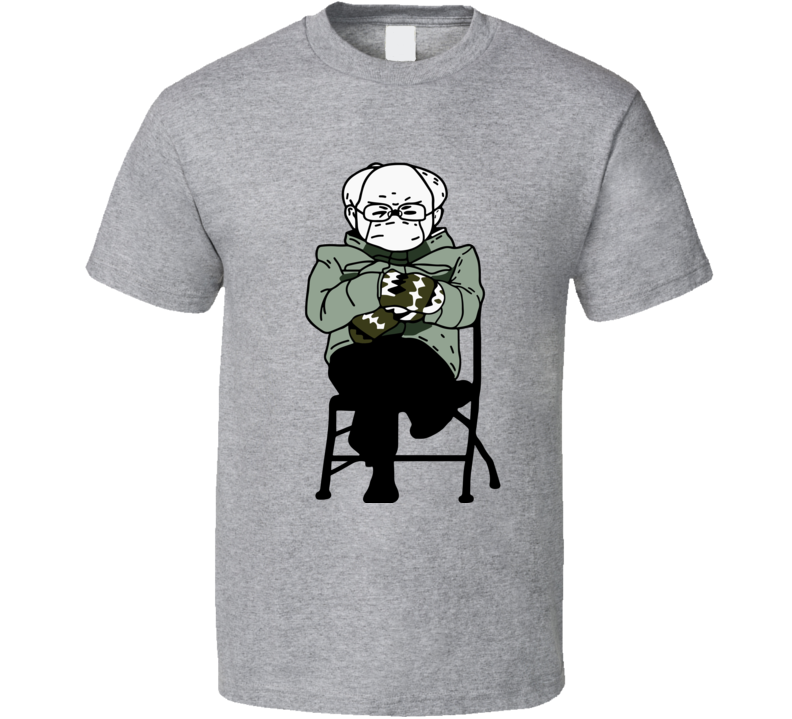 The Man The Mittens The Legend  T Shirt