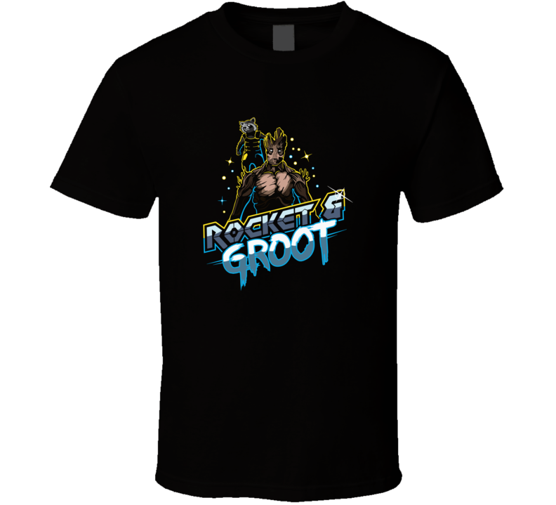 Rocket And Groot T Shirt