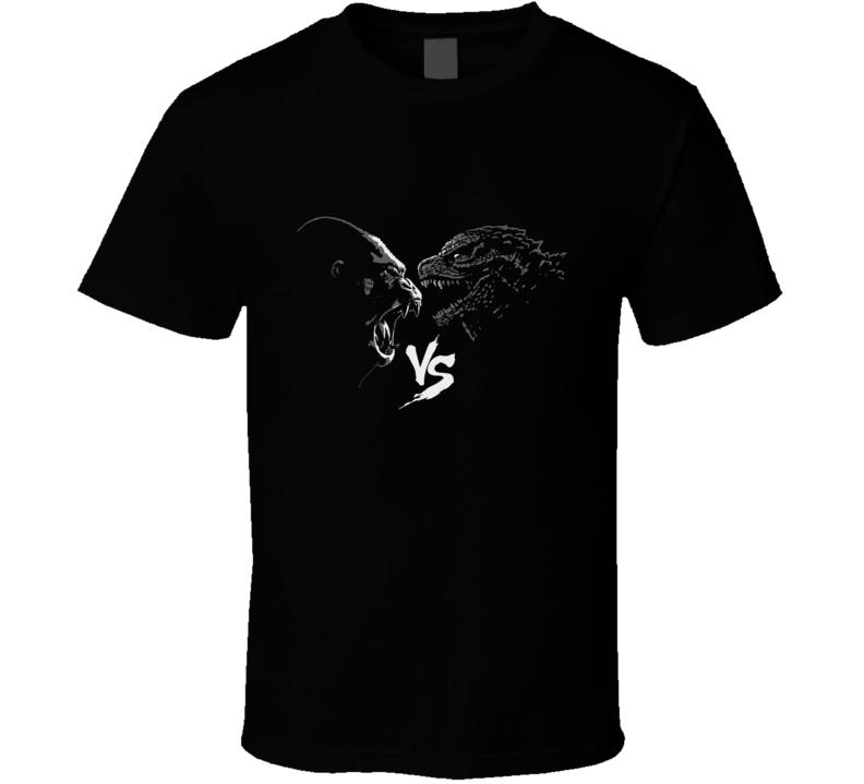 Kong Vs Godzilla T Shirt