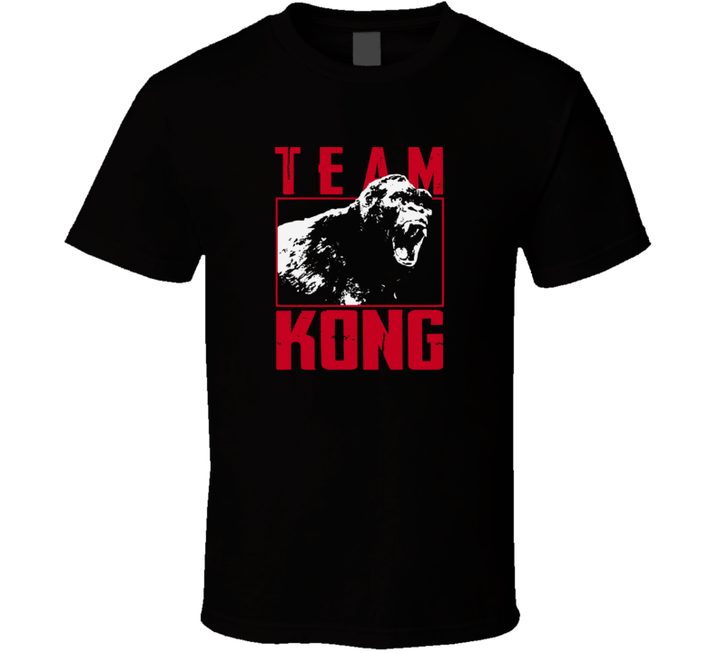 Godzilla Vs Kong Team Kong T Shirt
