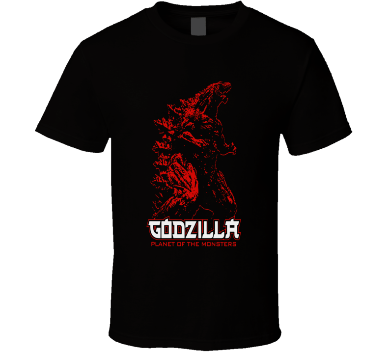 Godzilla Planet Of The Monsters T Shirt