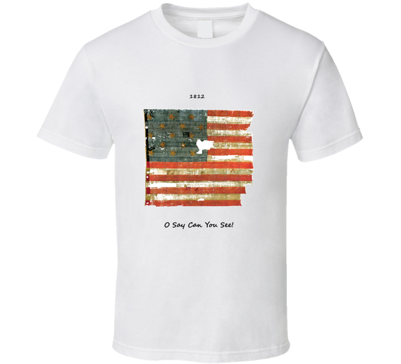 1812 Star Spangled Banner T Shirt