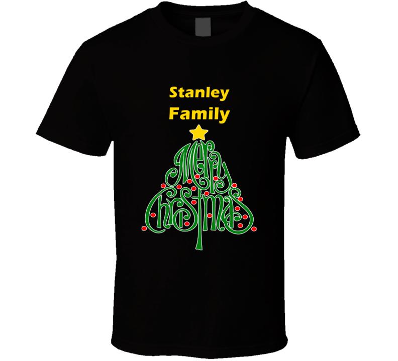 Stanley Family Merry Christmas T shirt
