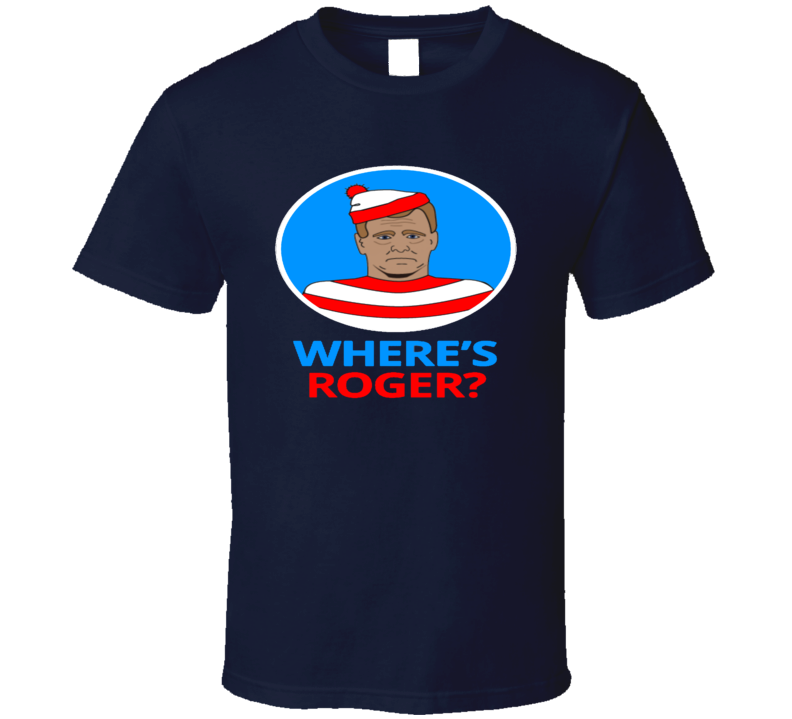 Where Is Roger Patriots Roger Rabbit Parody T Shirt