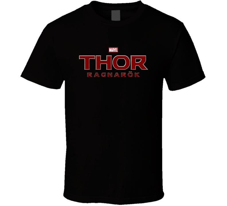Thor Ragnarok Poster Marvel Superhero Thor Hulk Movie T Shirt