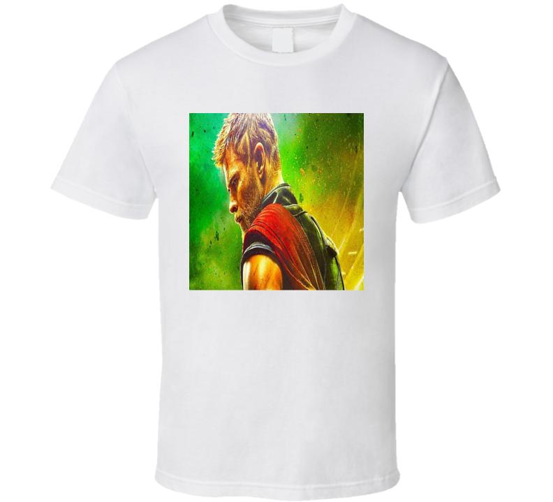 Thor Ragnarok Movie Poster Marvel Hulk Thor Fan T shirt