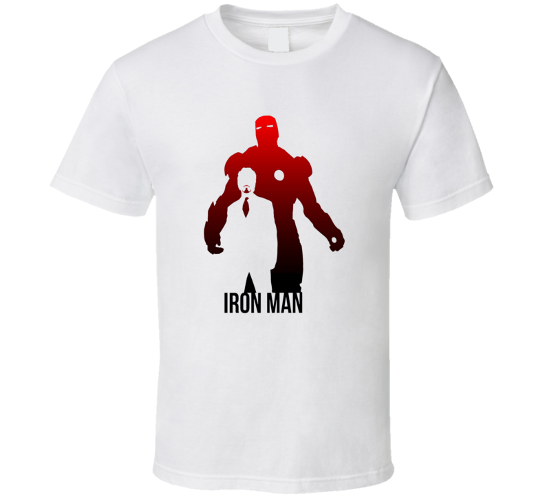 Iron Man Tony Stark Marvel Comics Super Hero Fan Iron Man Wallpaper T Shirt