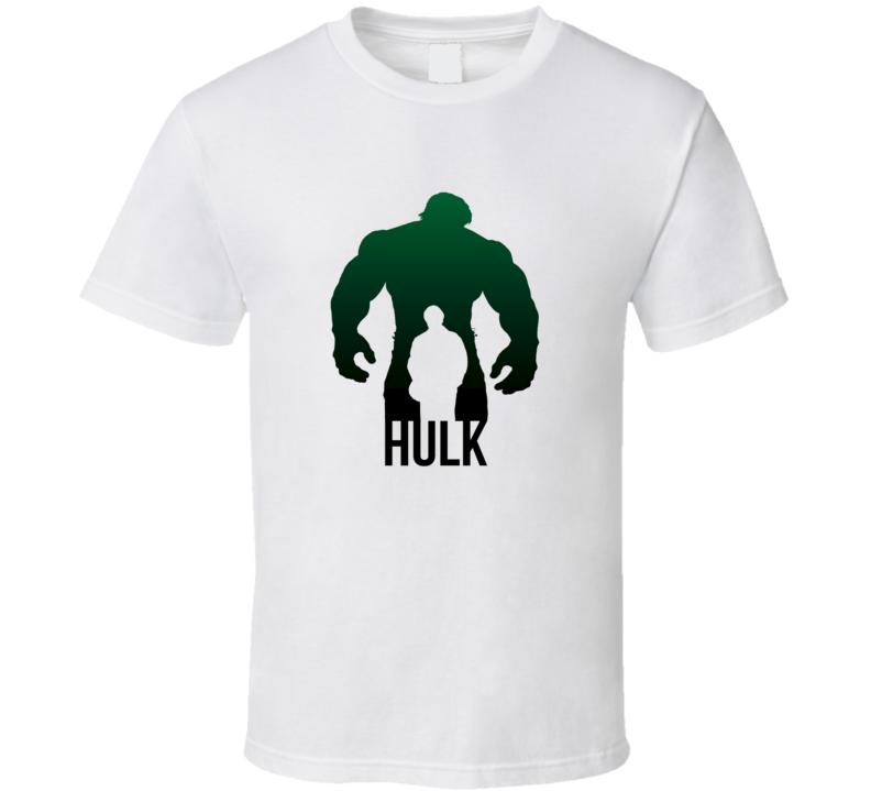 Hulk Bruce Banner Hulk Marvel Comics Super Hero Fan T Shirt