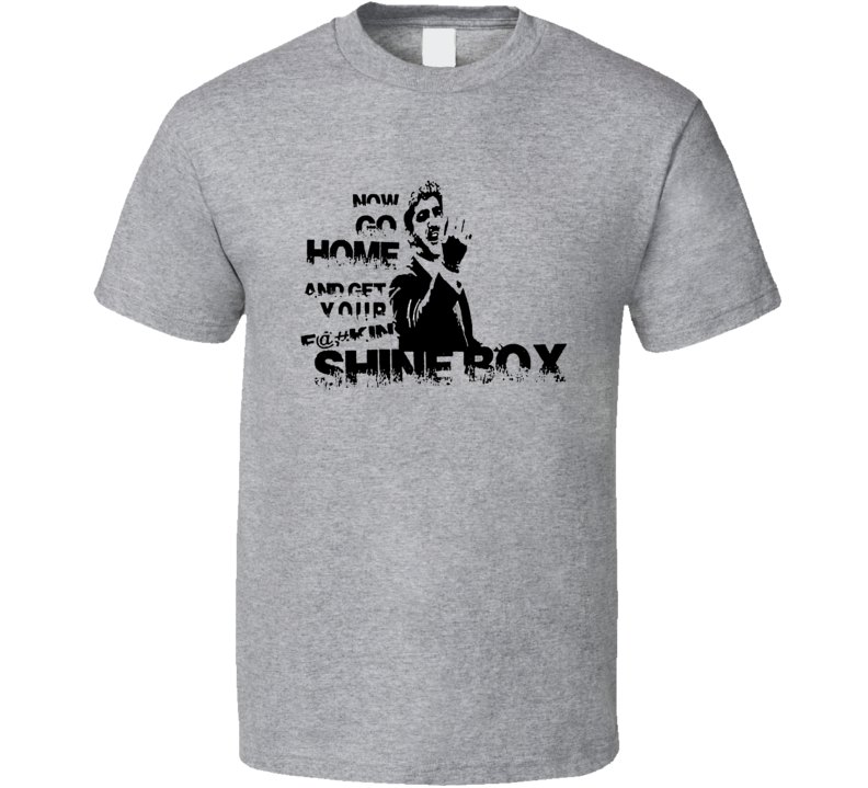 Billy Batts Now Go Home And Get Your Fcukin Shine Box Box Goodfellas Movie T Shirt