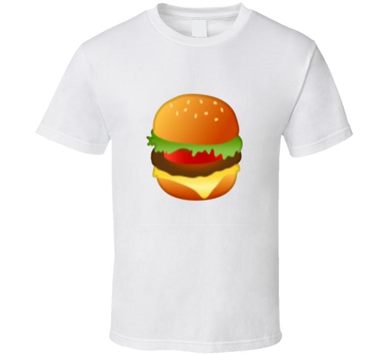 Funny Trending Google Hamburger Emoji T Shirt