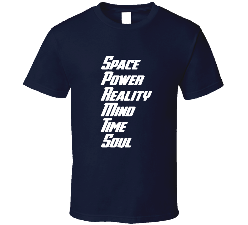 Marvel Infinity War Movie Fan Space Power Reality Infinity Stones T Shirt