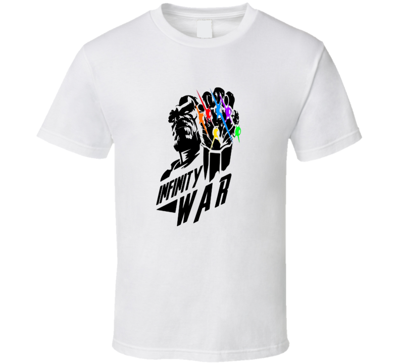 Avengers Infinity War Thanos Infinity Stones Superhero Movie T Shirt