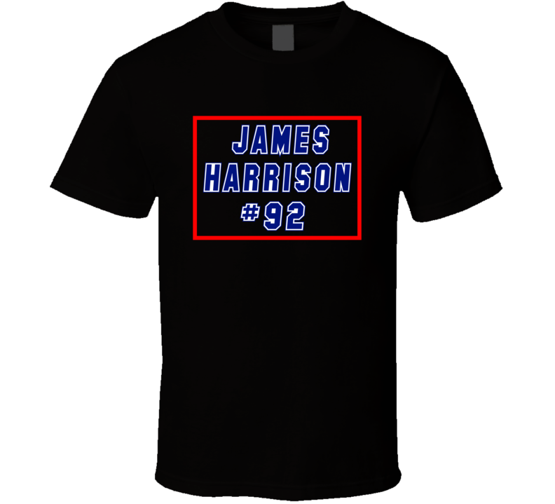 James Harrison New England Patriots Player  Number 92 T Shirt
