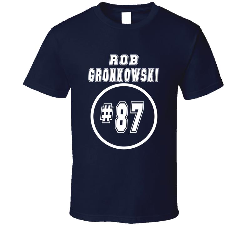 Rob Gronkowski Steelers Tribute Patriots Football Fan T Shirt