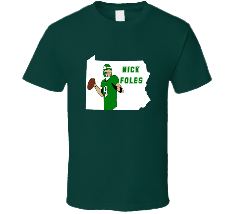 Nick Foles Eagles Quaterback Philadelphia Eagles Football Fan T Shirt