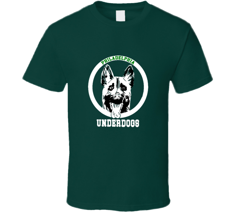 Philadelphia Eagles Underdogs Victory Superbowl Football Fan T Shirt