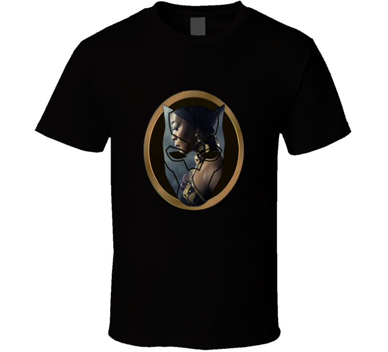 Black Panther Female Character Black Panther Movie Fan T Shirt