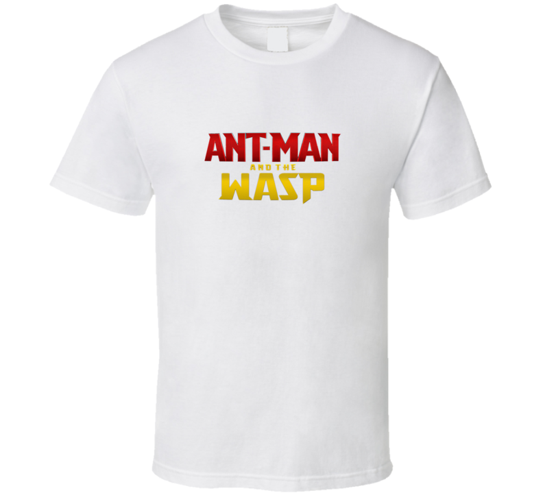 Ant Man And The Wasp Marvel Super Hero Movie Fan Poster T Shirt