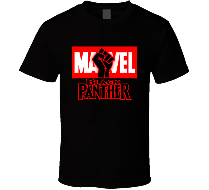 Marvel Black Panther Movie Black Lives Matter Black Power T Shirt