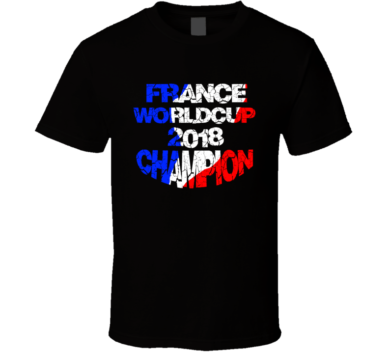France Football Team Worldcup 2018 Champion France Worldcup T Shirt