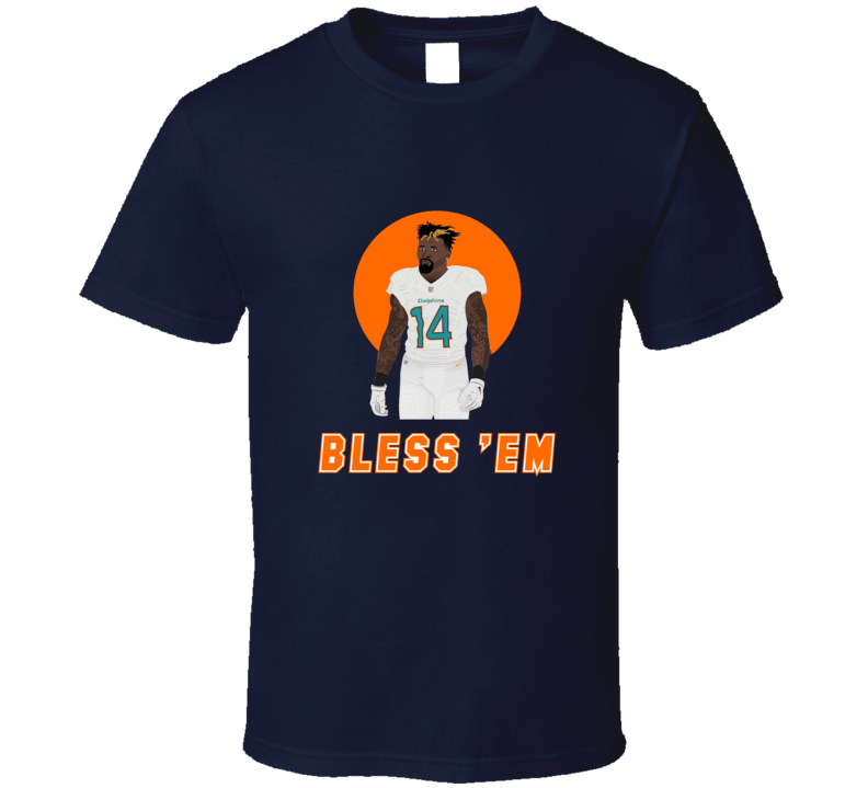 Jarvis Landry Bless Em Miami Dolphins Football Player Trending T Shirt