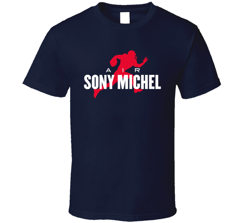 Air Sony Michel New England Patriots Running Back Football Fan T Shirt