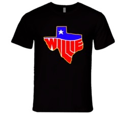 Willie Nelson 1984 Tour New Country Western Outlaw Retro Classic Music T Shirt