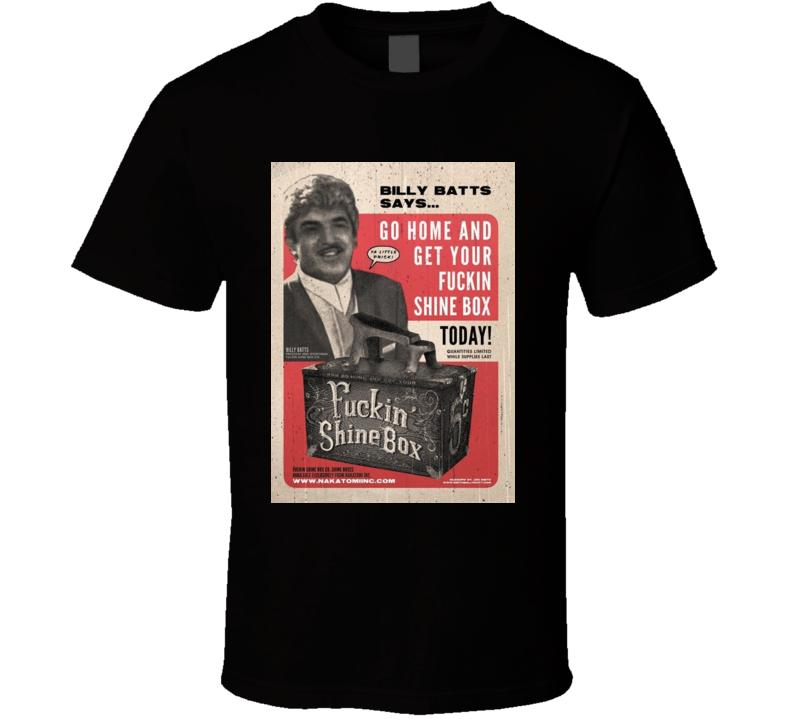 Billy Bats Shine Box T Shirt
