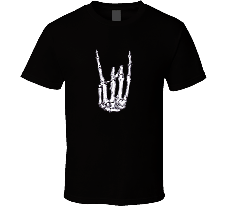 Rock n Roll Hand Sign T Shirt