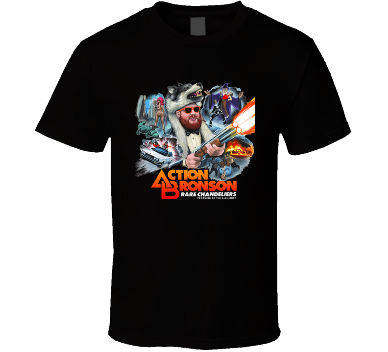 Action Bronson Rare Chandeliers Black T Shirt